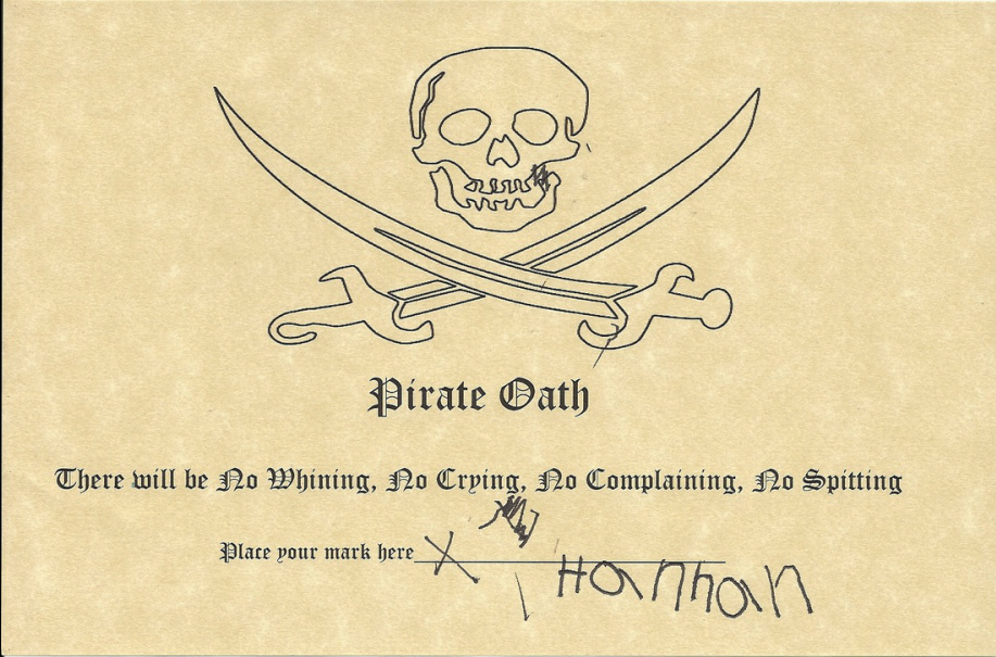 pirate oath picture