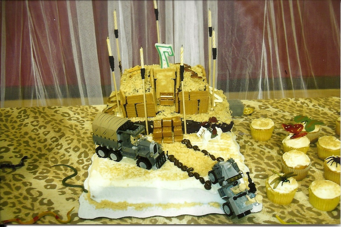 Temple Birthday Cake