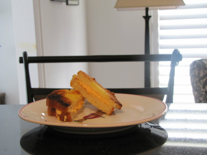 April Fools Grilled Chesse Sandwich